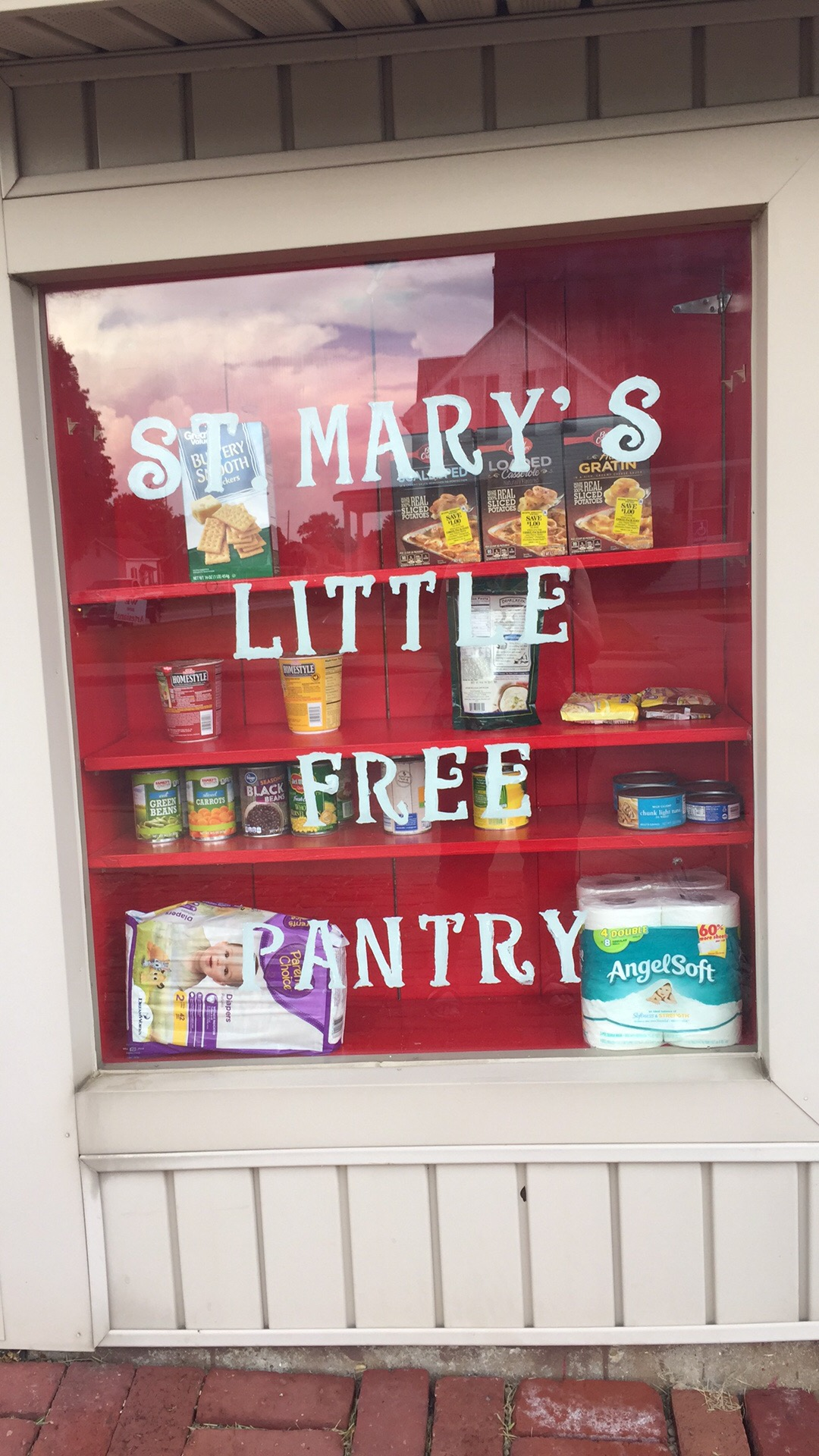 St. Mary's Little Free Pantry Photo 1