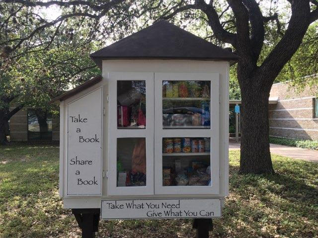 Church of Reconciliation Food and Book Blessing Box Photo 1