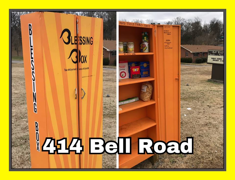 Blessing Box at Bell Road Church of the Nazarene Photo 1