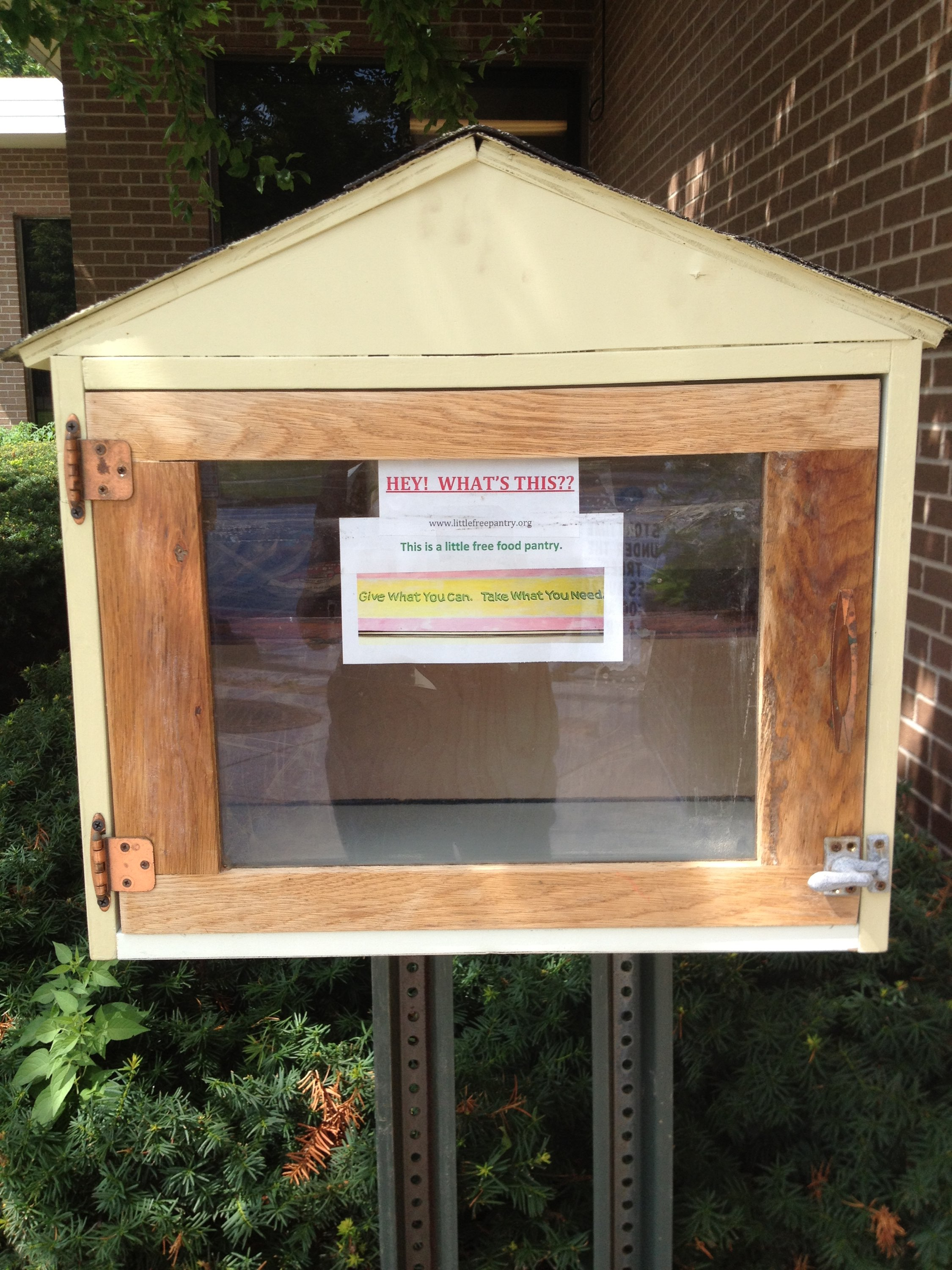 Little Free Food Pantry -WintonBranch Library Photo 1