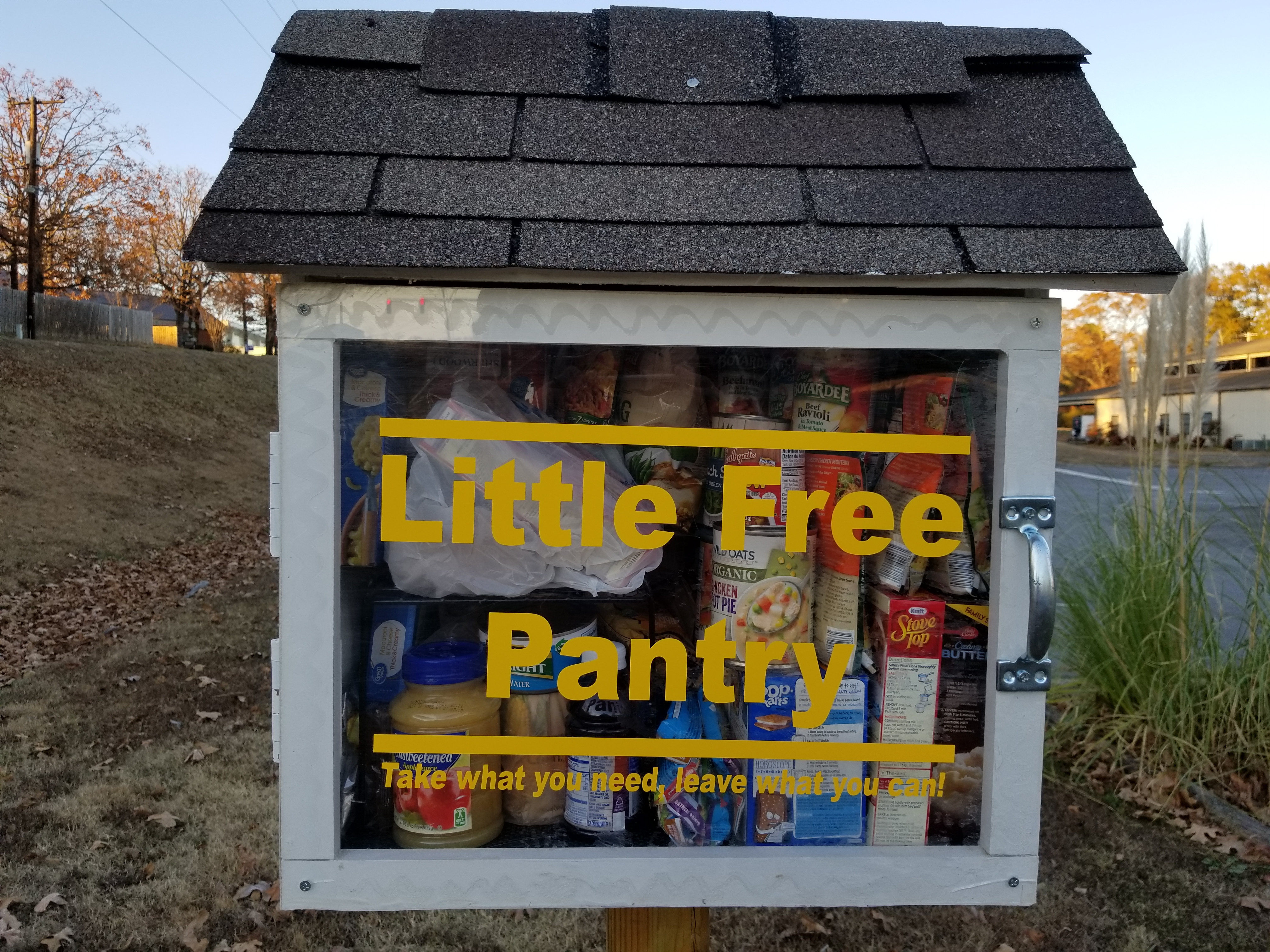 Little Free Pantry in Sherwood AR #5 Photo 1