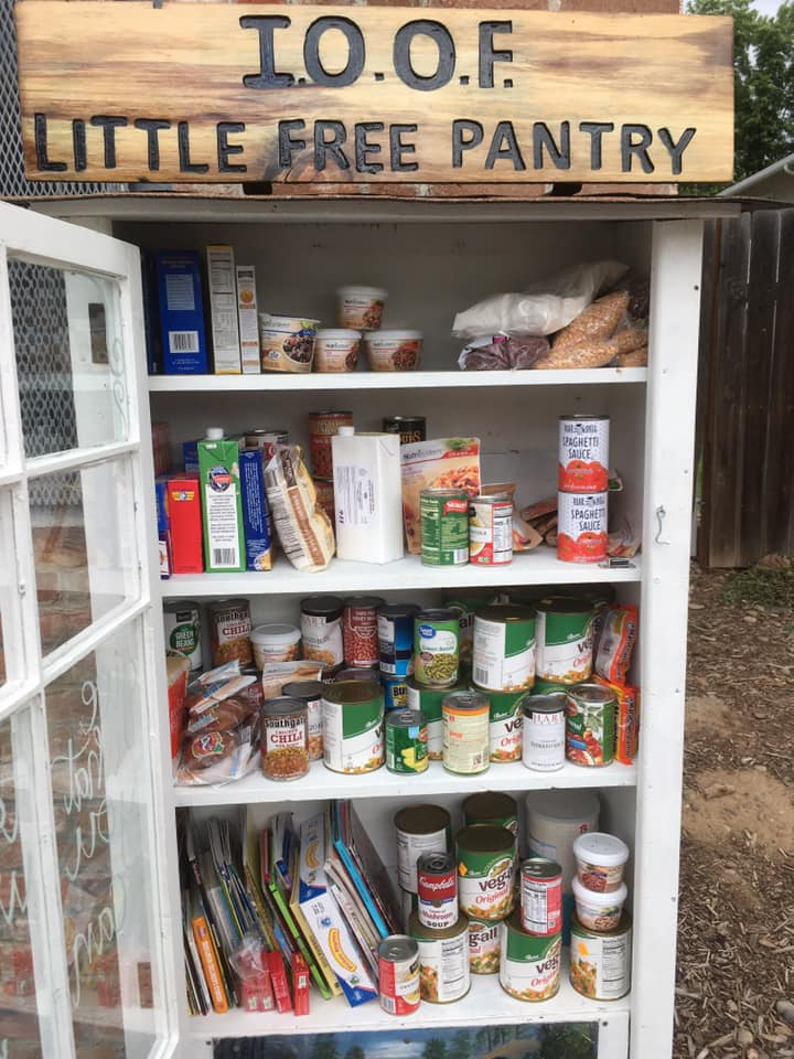 IOOF little free pantry Photo 2