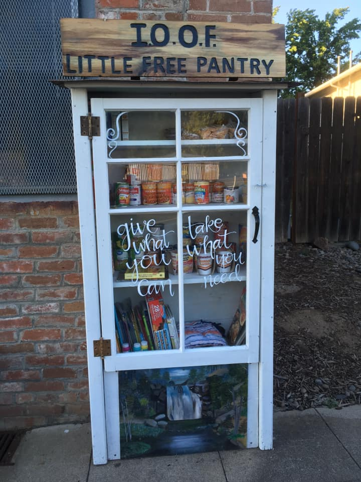 IOOF little free pantry Photo 1