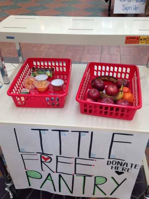 Pinckney Community High School's Little Free SCHOOL Pantry Photo 2
