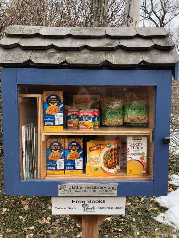 Parker's Lake Little Free Pantry Photo 1