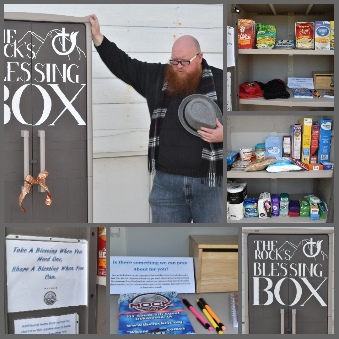 The Rock's Blessing Box Photo 1