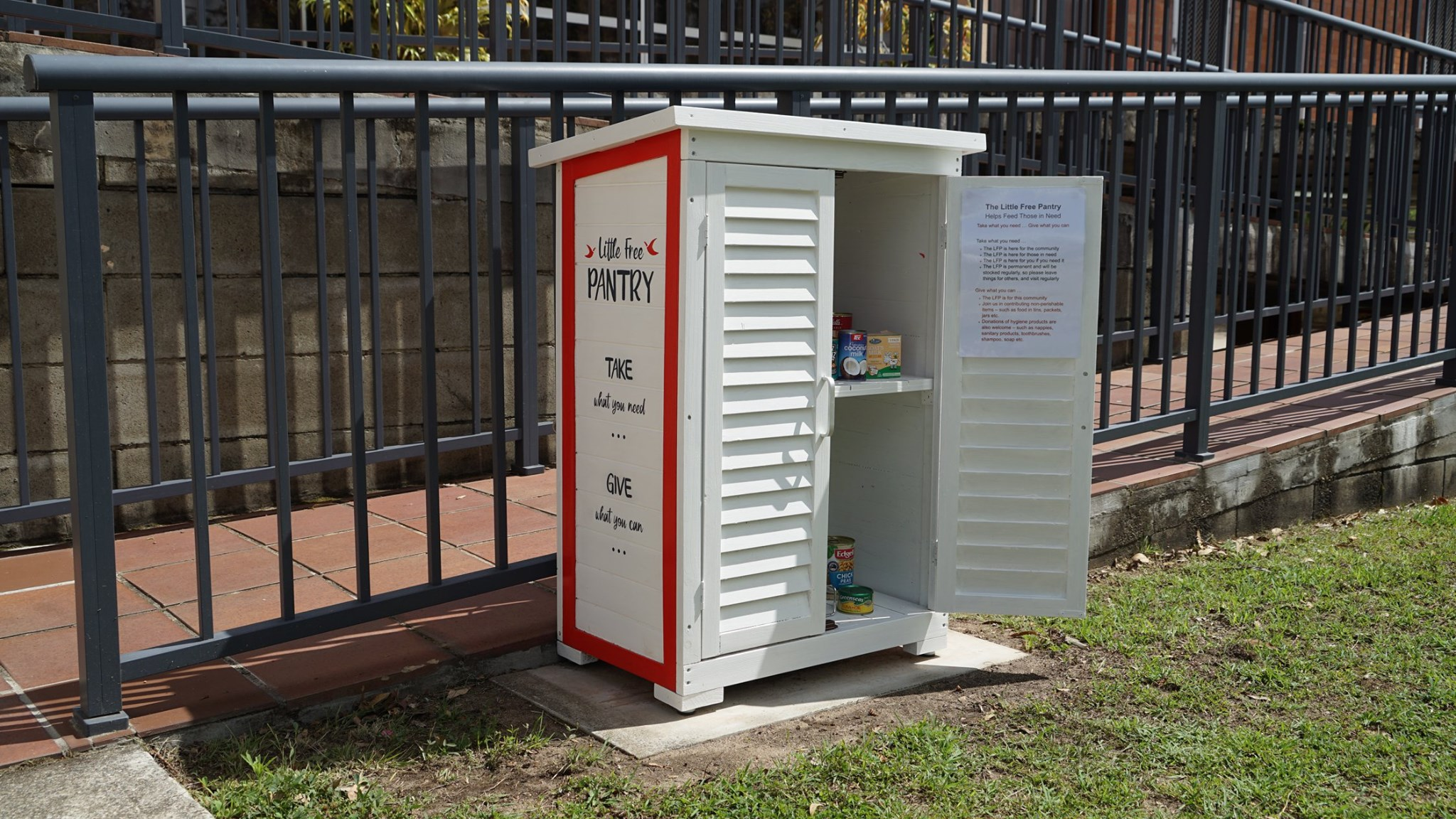 Queensland Synod Little Free Pantry Photo 1