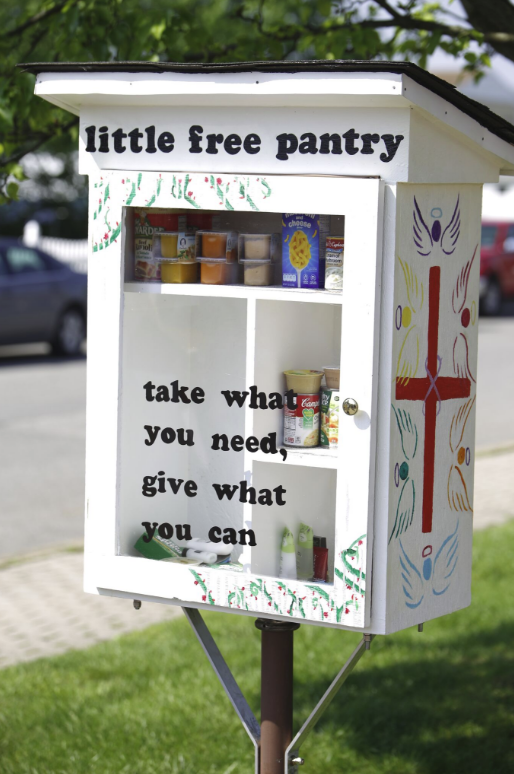 Little Free Pantry - Aliquippa HOP Lutheran Photo 1
