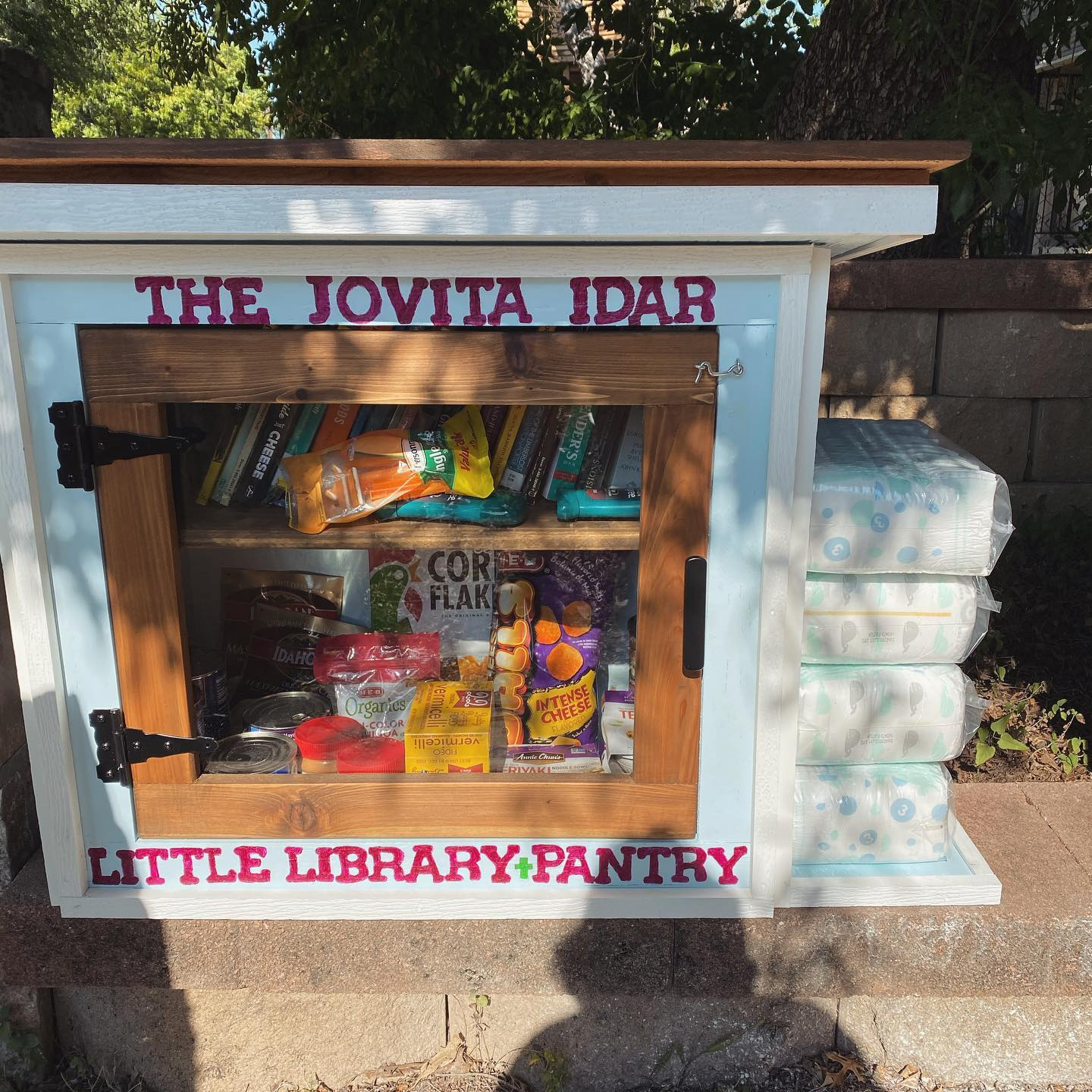 The Jovita Idár Little Library & Pantry Photo 1
