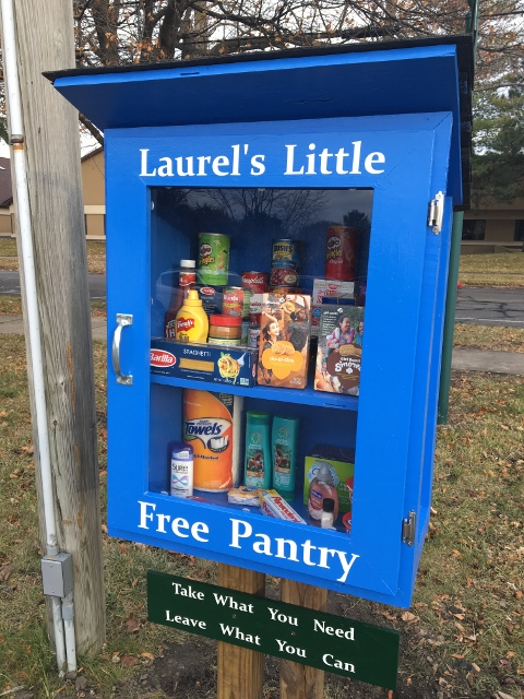 Laurels Little Free Pantry Photo 1