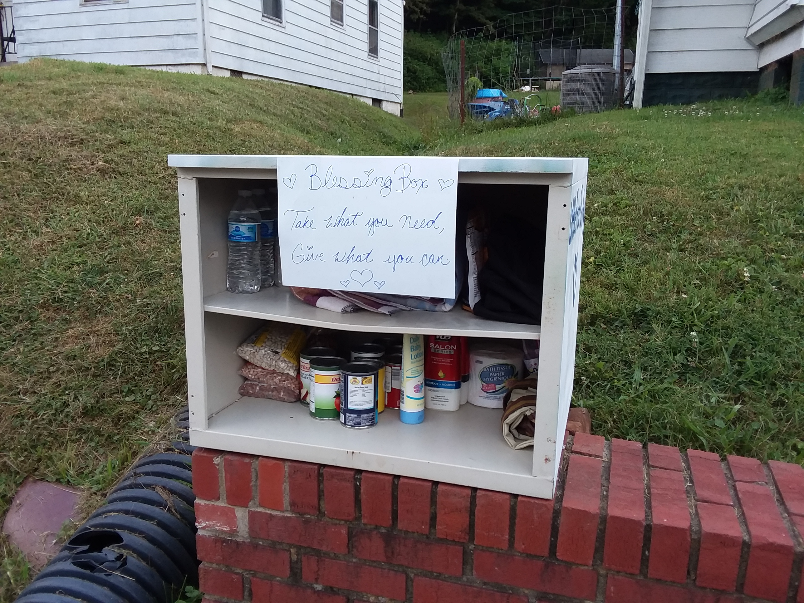 Evans Hts. Blessing Box Photo 1