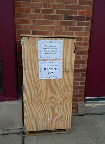 Trinity United Methodist Church Blessing Box Photo 1