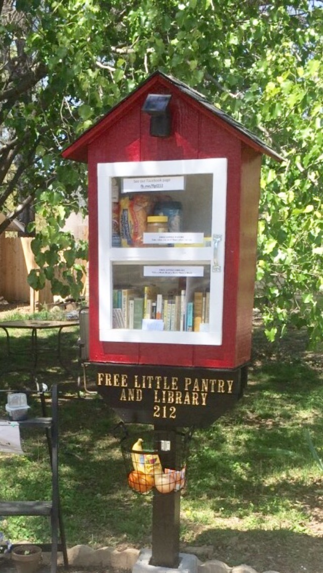Free Little Pantry and Library Photo 1