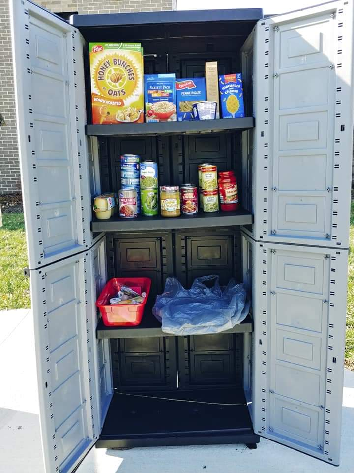Bedford Pop-up Little Free Pantry Photo 2