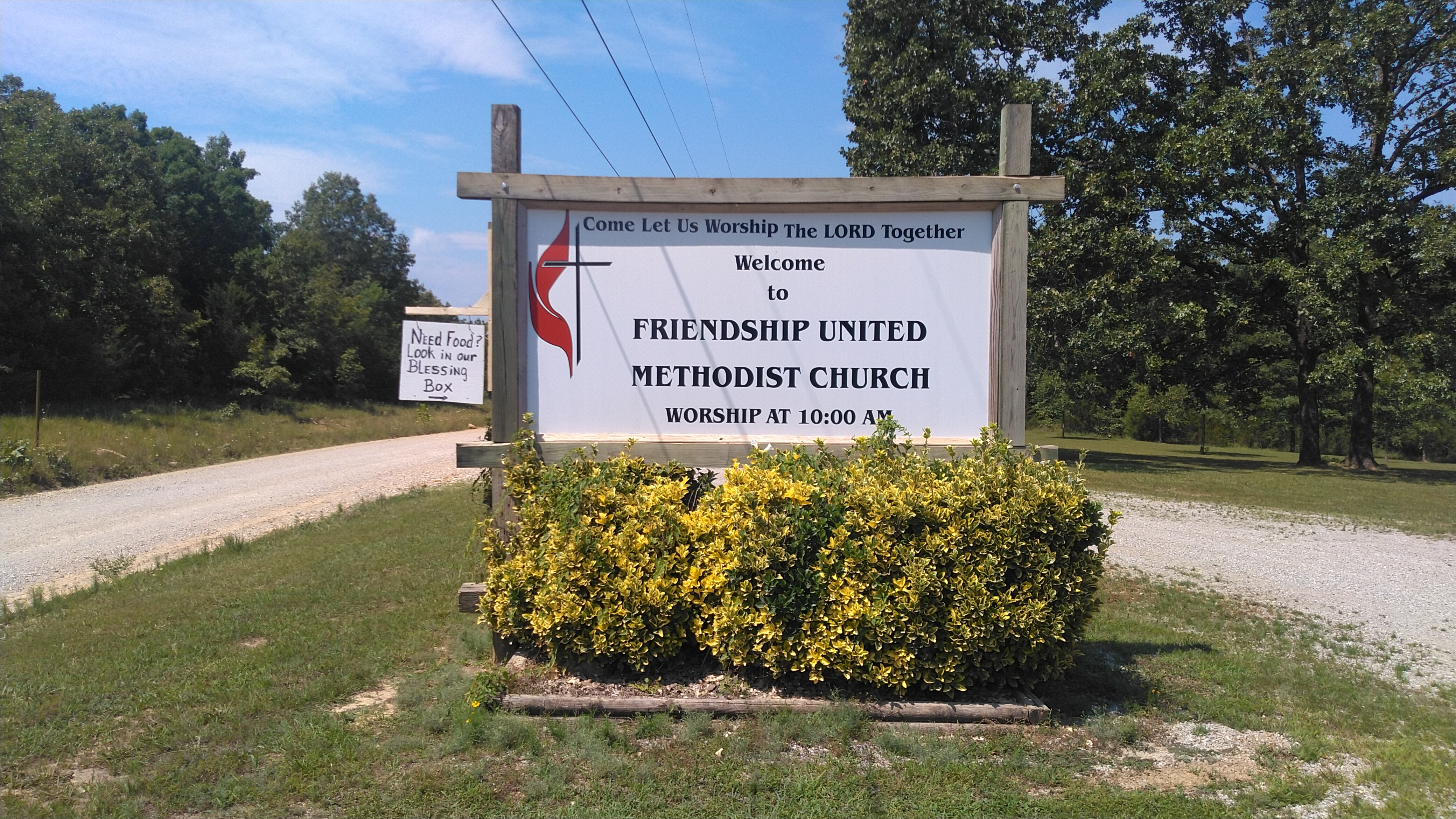 Friendship UMC Blessing Box Photo 2