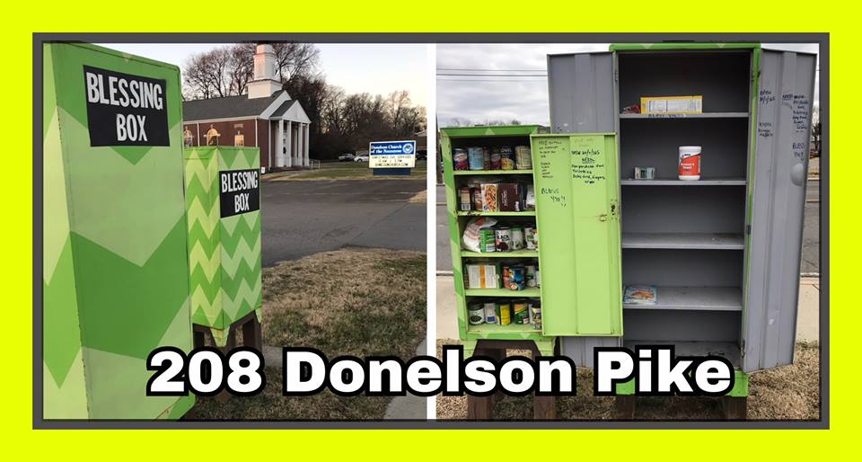 Blessing Box at Donelson Church of the Nazarene Photo 1