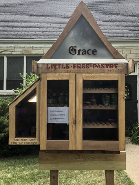 Grace Lutheran Church Little Free Pantry Photo 1
