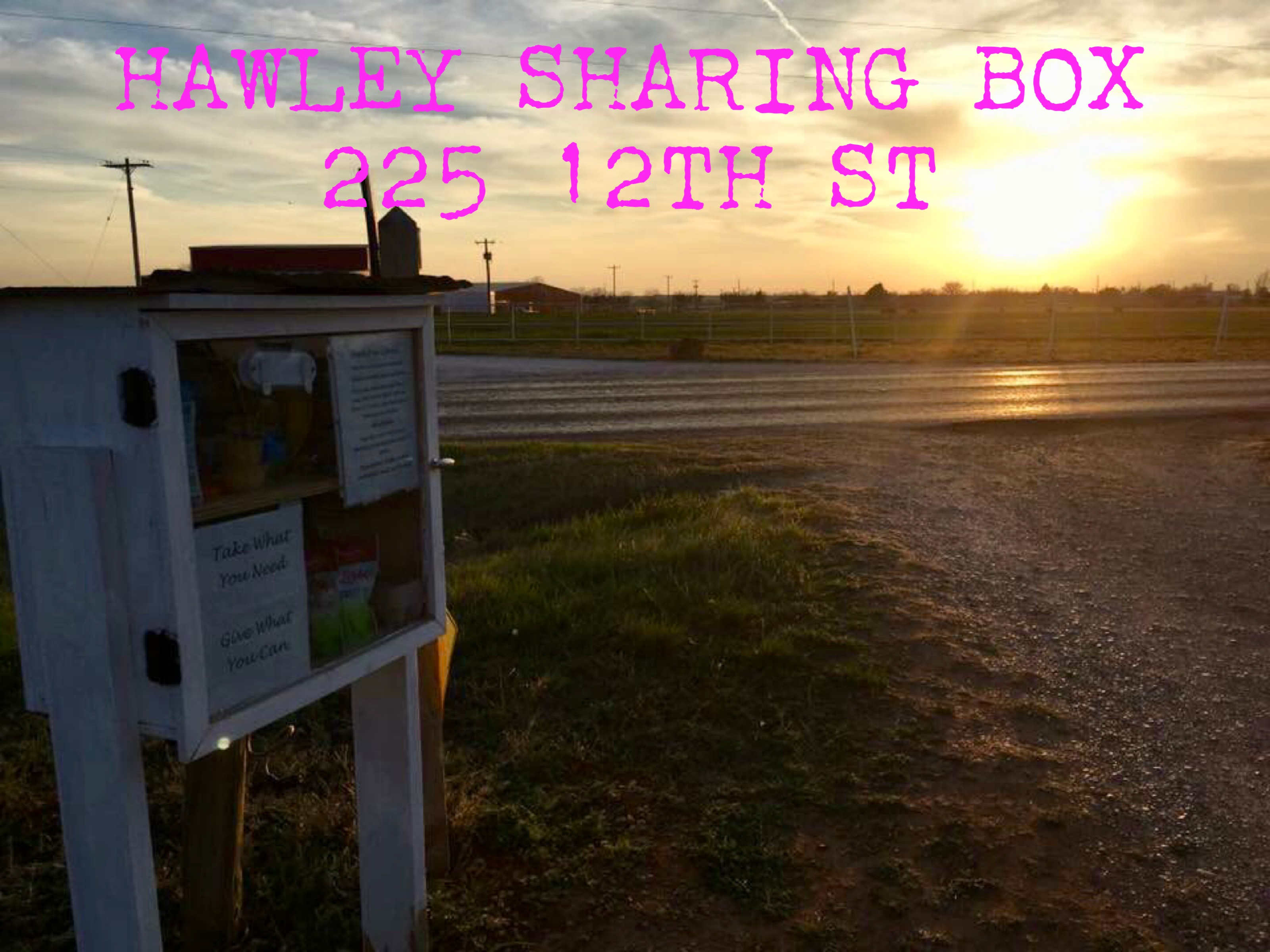 Hawley Sharing Box Photo 2
