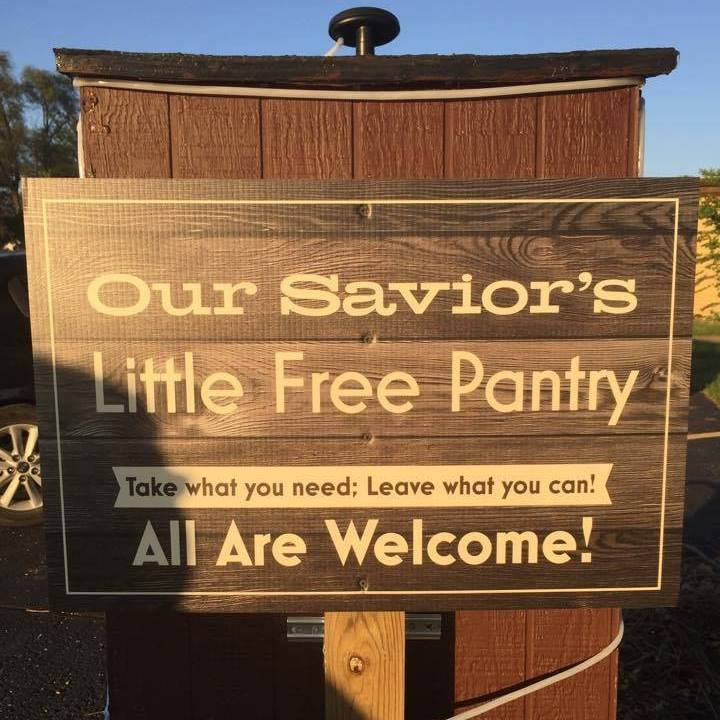 Our Savior's Little Free Pantry Photo 1