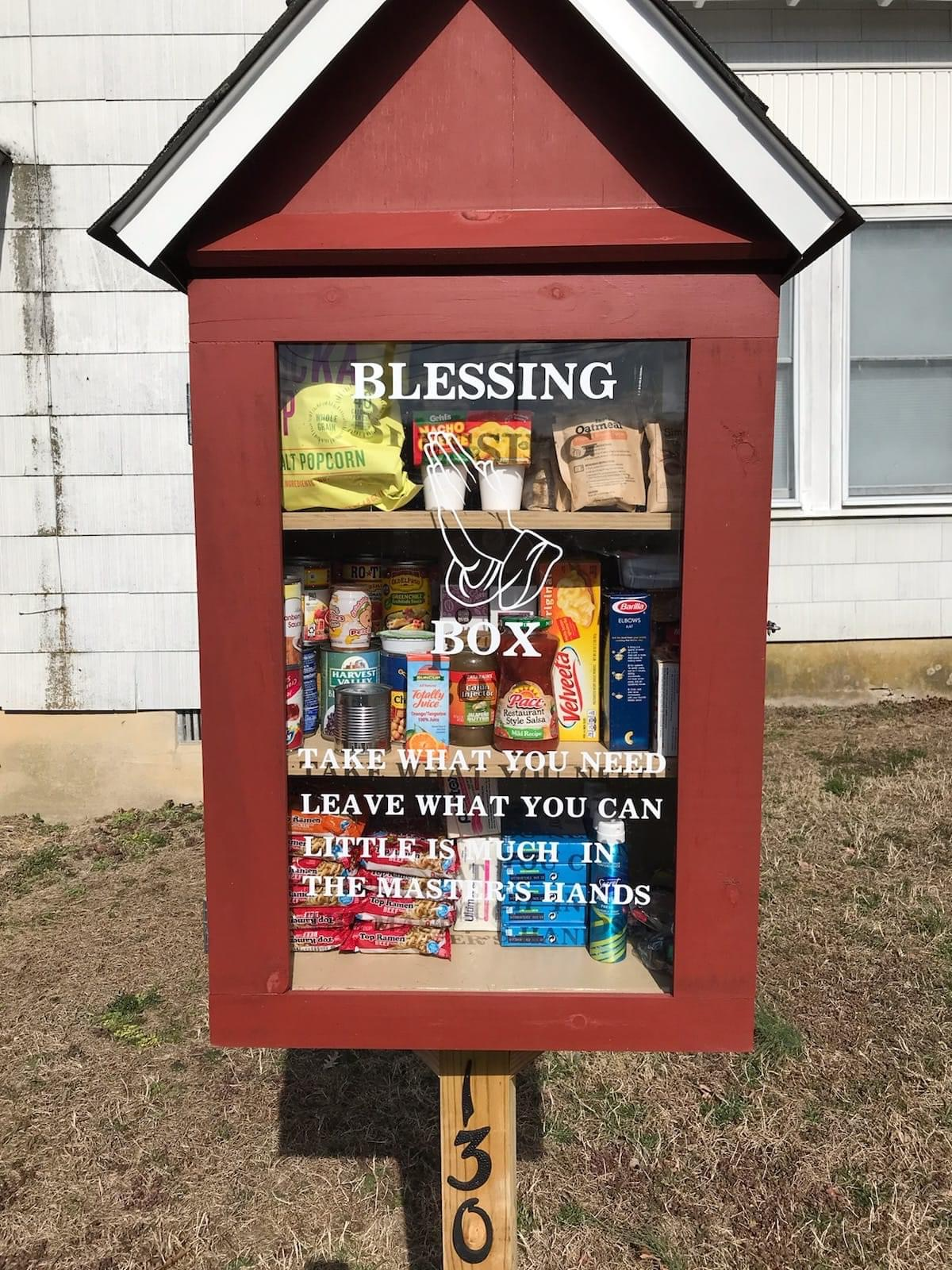 Marydel Community Hall Blessing Box Photo 1