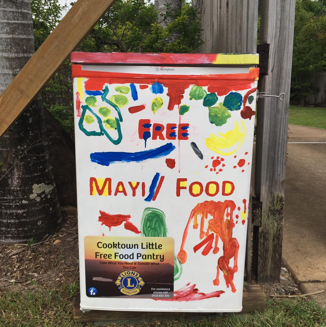 Cooktown Little Free Food Pantry Photo 1