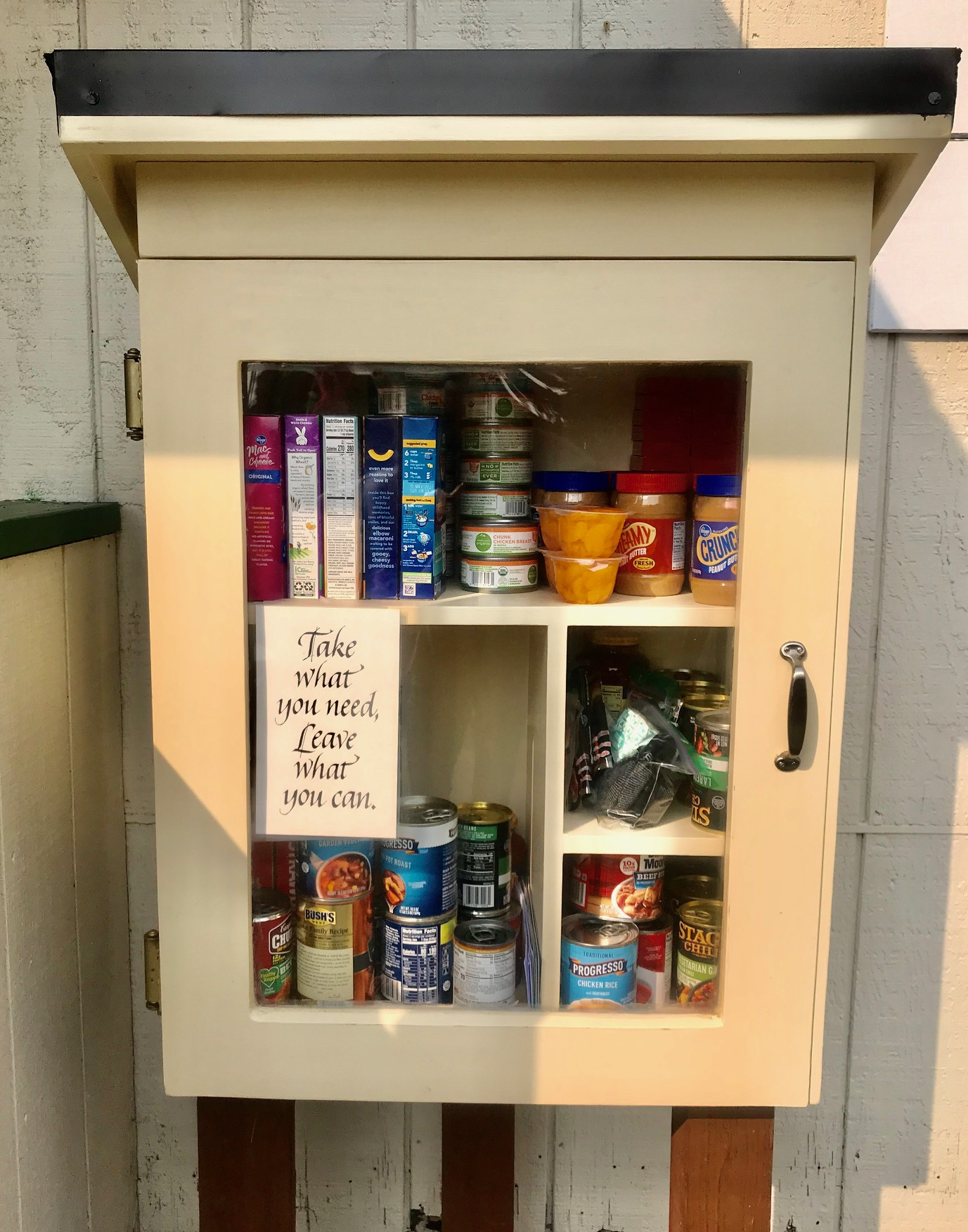 Little Free Pantry at the Chimacum Grange Photo 1