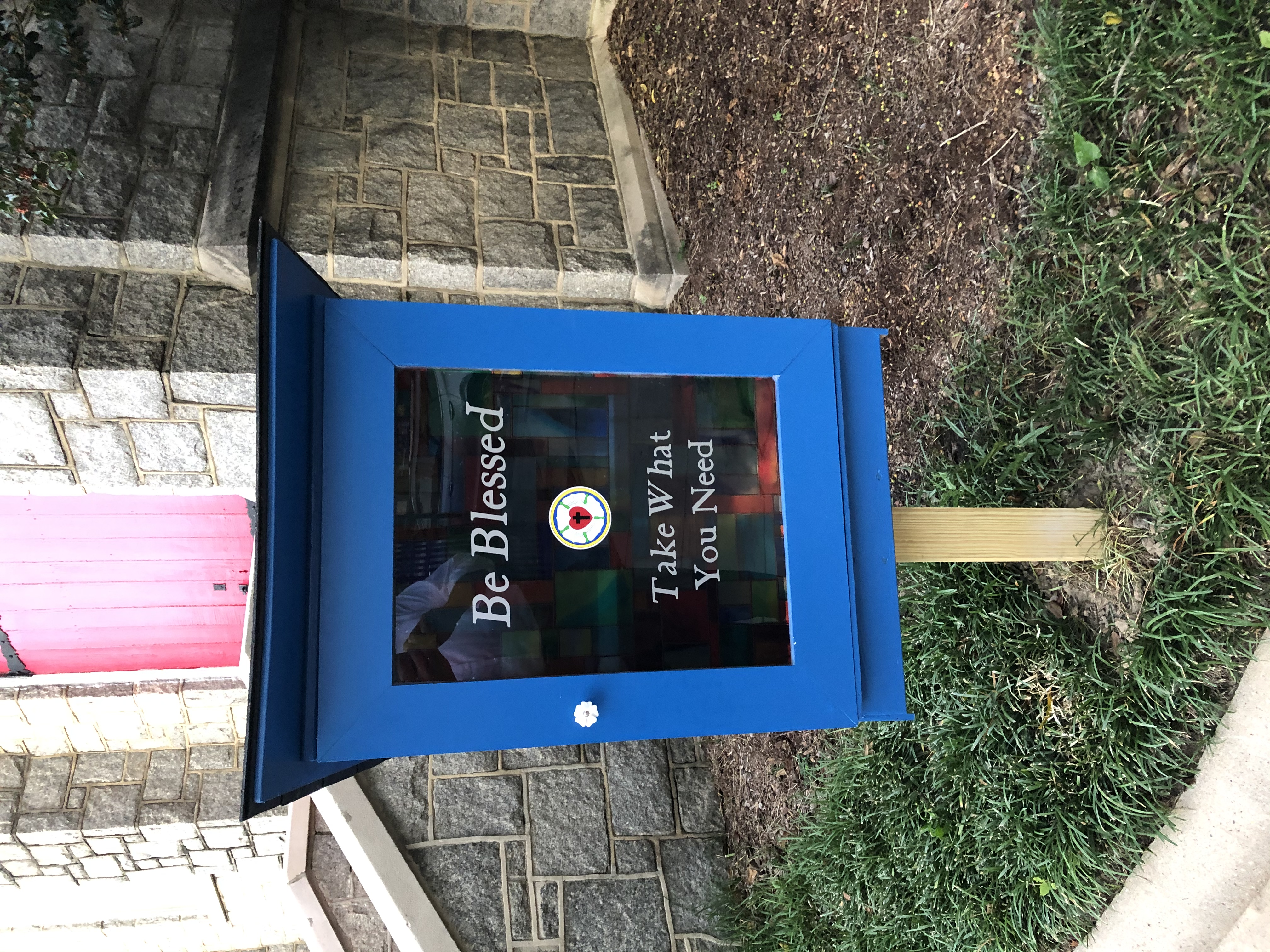 Resurrection Lutheran Church Blessing Box Photo 1