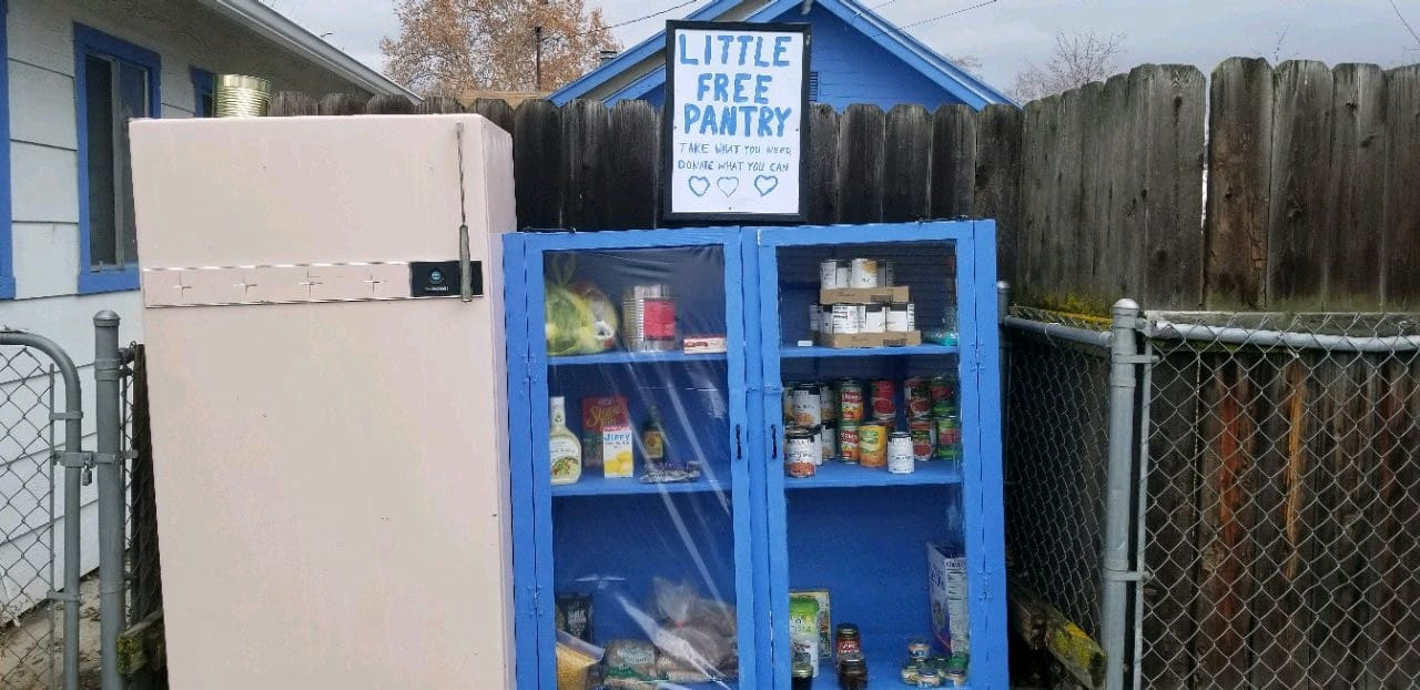 Little Free Pantry-- Clarkston WA Photo 1