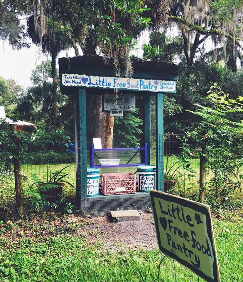 Little Free Pantry Micanopy Photo 1