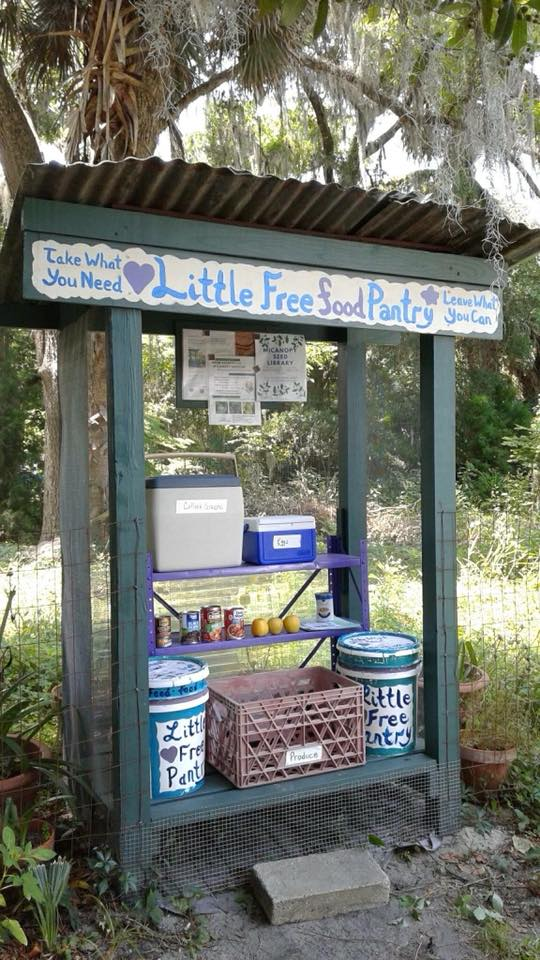 Little Free Pantry Micanopy Photo 2