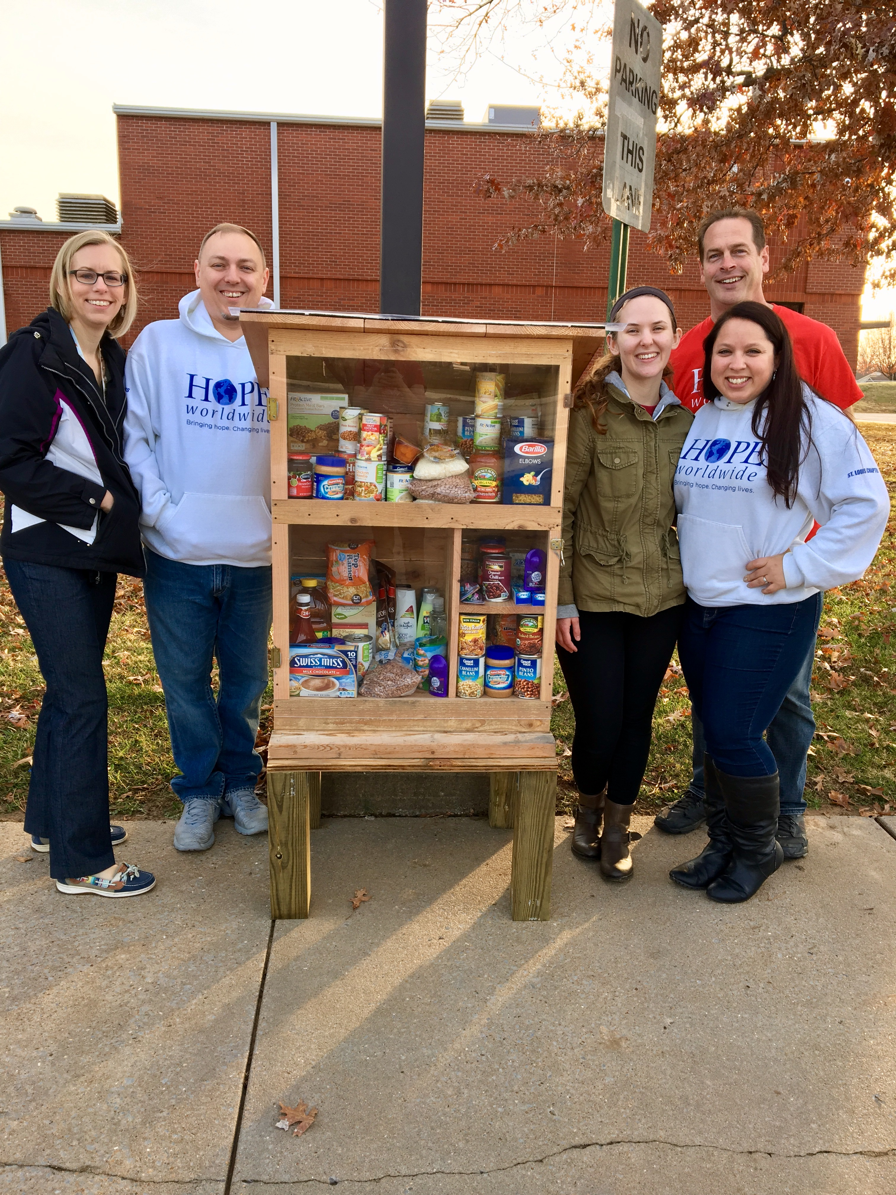 Parson Hills Elementary Little Free Pantry Photo 1